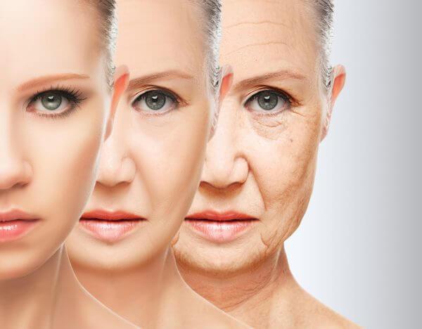 女性が年をとるイメージ