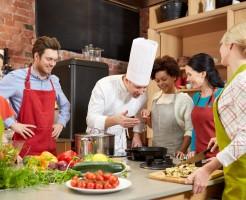お料理婚活の風景