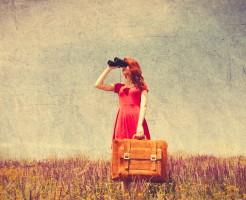 遠距離婚活女性のイメージ