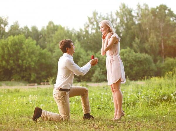 幸せな結婚のイメージ