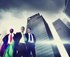 高収入の上場企業男性イメージ