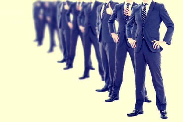 大手企業の会社員イメージ